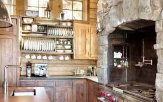 Искусственный камень в интерьере кухни – характерные черты и применение